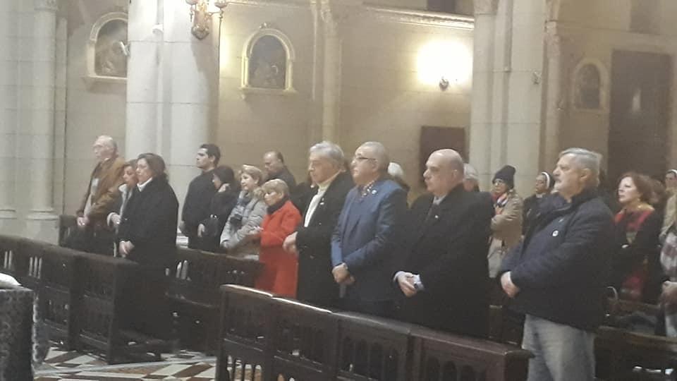 Misa por los Héroes de la Independencia
