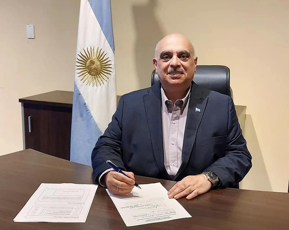 Biondini firmó su candidatura a Diputado Nacional